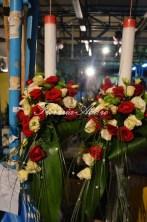 lumanari nunta arad trandafiri rosii curgatoare
