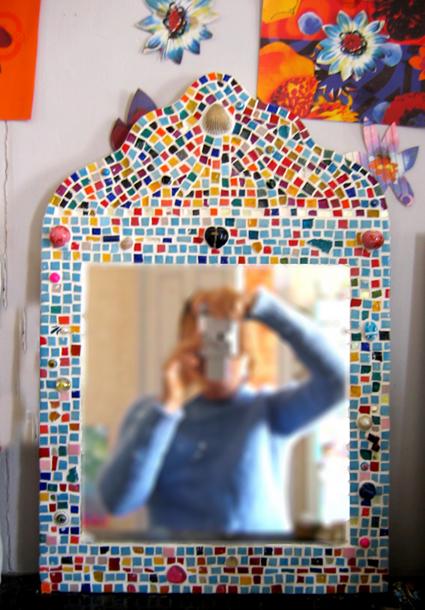 mosaique miroir