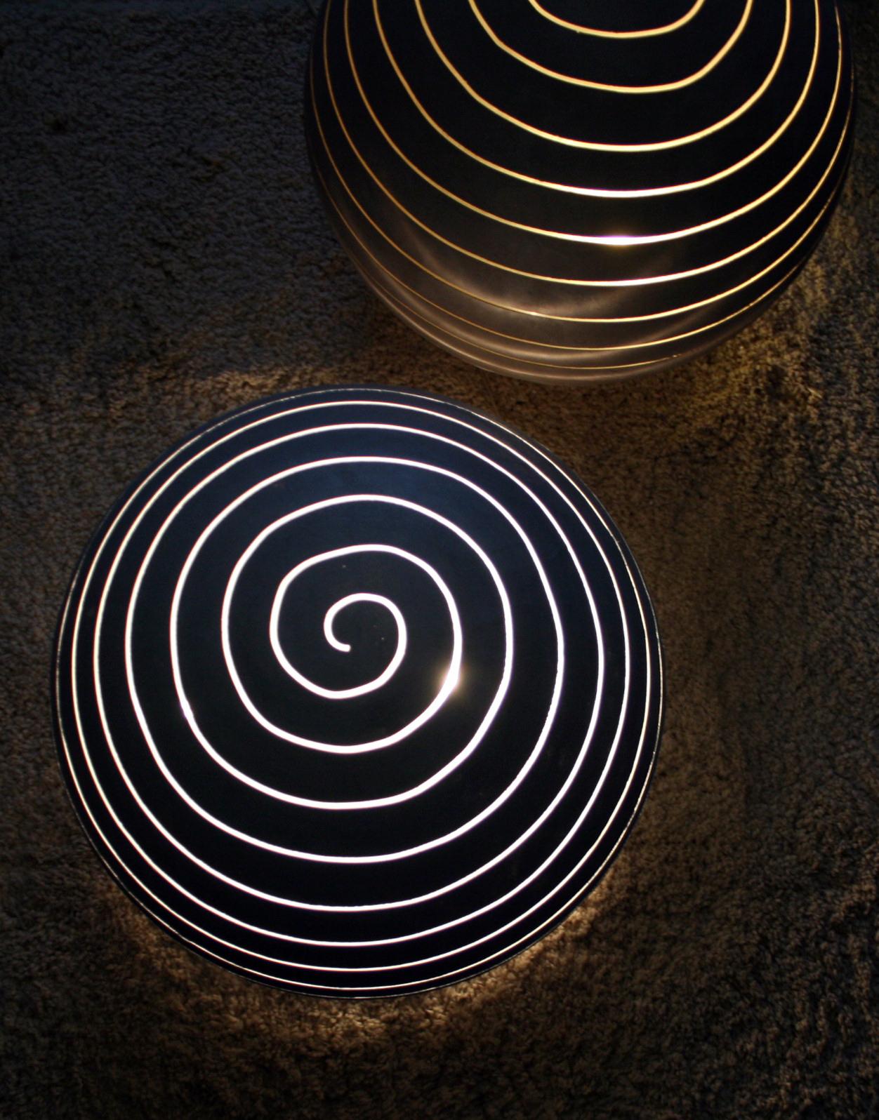 Lampe béton ciré Molinaro
