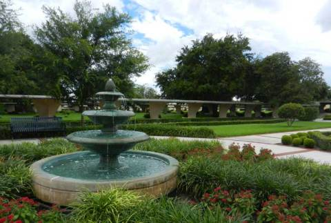 Beautiful campus, Florida Southern College campus