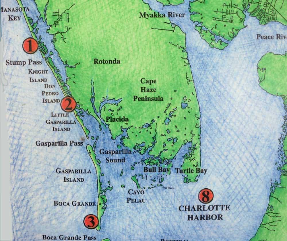 Barrier Islands In Southwest Florida