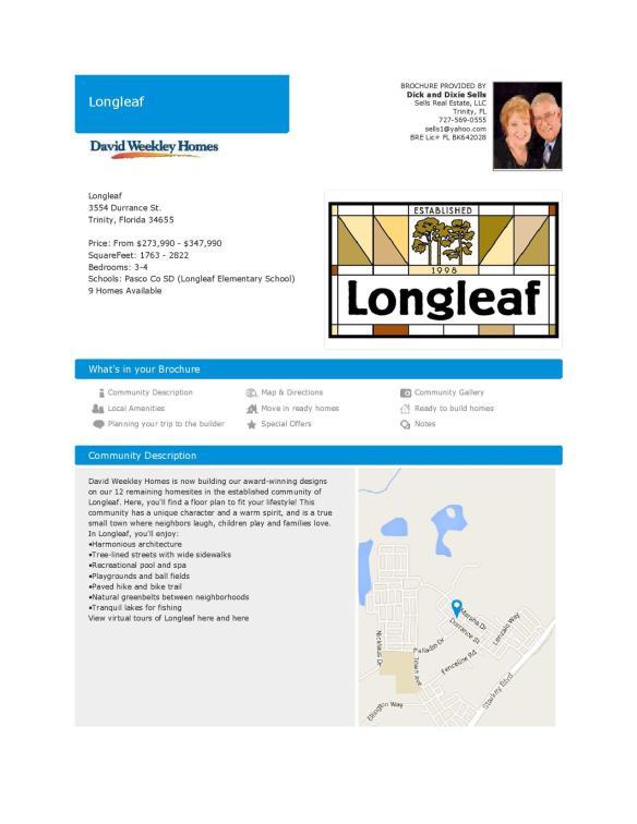 Longleaf Trinity Florida Overview