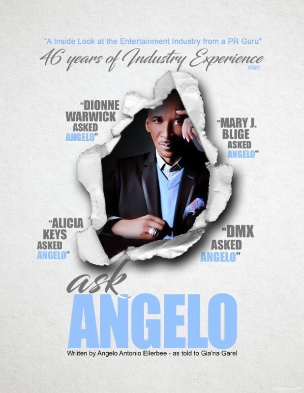 """Congrats to PR Guru Angelo Ellerbee on """"ASK ANGELO"""" Being #37 On Amazon's Best Seller Book Chart"""