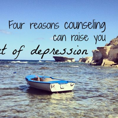 Four Reasons Counseling Can Raise You Out of Depression