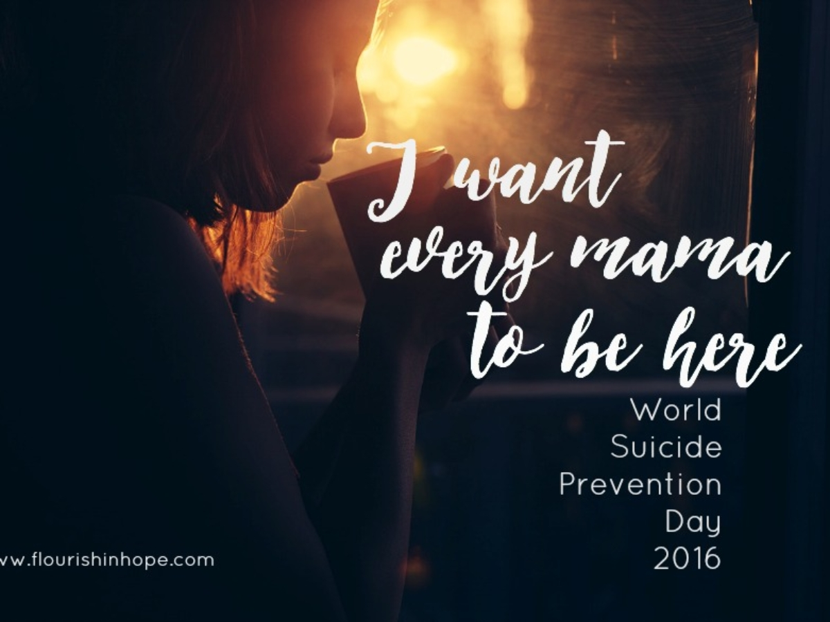 World Suicide Prevention Day Maternal Suicide