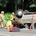 Flourtown Responds to Vehicle Rescue in Whitemarsh