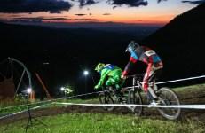 24h downhill race the night semmering zauberberg 2015