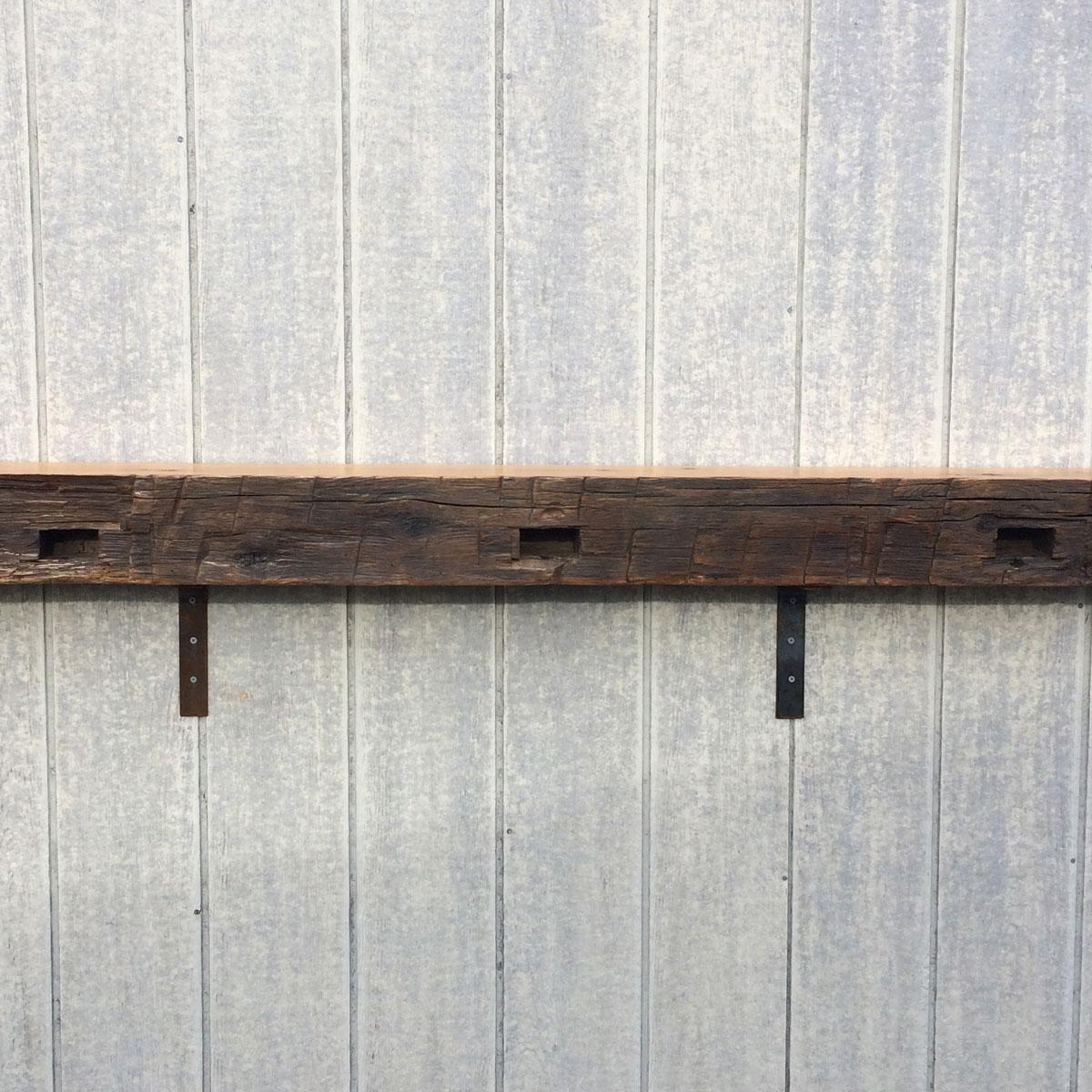 Fullsize Of Reclaimed Wood Mantel