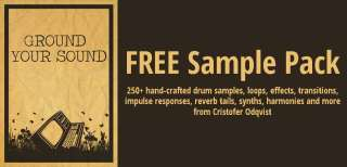 250+ free handcrafted sounds, loops and effects