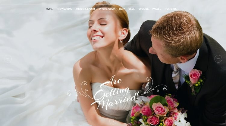 13 Great Wedding WordPress Themes