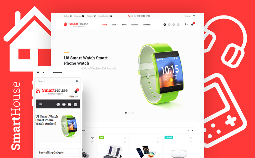 Smart Electronics Devices WooCommerce Theme
