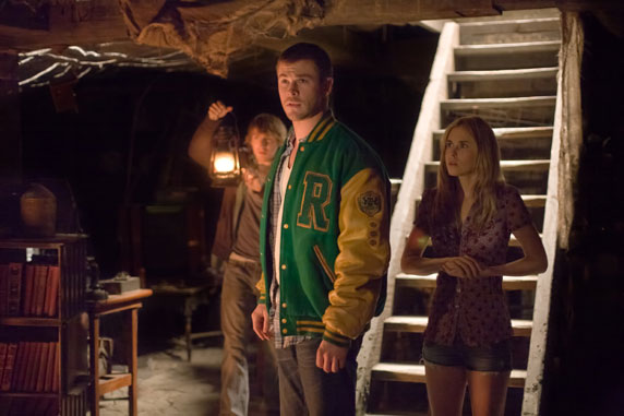 Cabin in the woods movie review