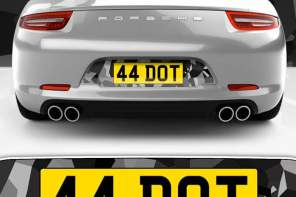 Win an exclusive custom Fourdot Number plate