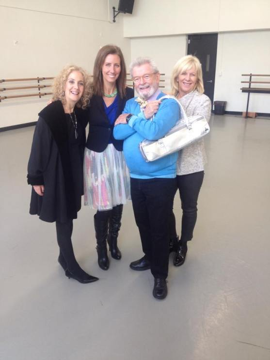 Sir James Galway, Lady Jeanne Galway, Fluterscooter and Barbara Siesel