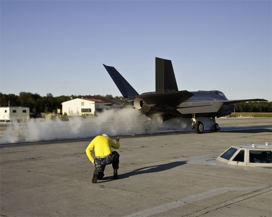 f-35 catapult launch