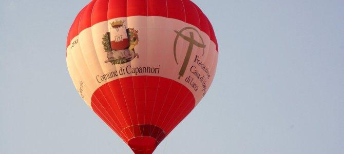 A Capannori voli liberi in Mongolfiera a pagamento a partire da agosto