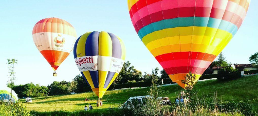 Calendario Eventi🎈2017: la Mongolfiera Comune di Capannori al 7° Balloon Festival di Pollone, Biella.