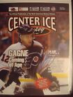 Simon Gagne Autographed Center Ice Magazine