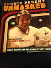 BERNIE PARENT UNMASKED AUTOGRAPHED BOOK PHILADELPHIA FLYERS