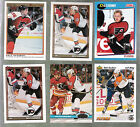 DALE KUSHNER PHILADELPHIA FLYERS LOT OF 6 DIFFERENT WITH ROOKIE CARD