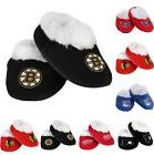 NHL Hockey Team Logo Children Infant Baby Booties Shoes Slippers Great Gift