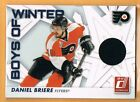 2010 11 Donruss Daniel Briere Game Used Jersey Philadelphia Flyers