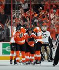 FLYERS VS NJ DEVILS 1 21 17 SECTION 107 LOW ROW 3 TWO TIXS FLYERS SHOOT TWICE