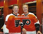 BRIAN PROPP DAVE POULIN PHILADELPHIA FLYERS WINTER CLASSIC ACTION 8X10 PHOTO