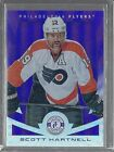 13 14 PANINI TOTALLY CERTIFIED SCOTT HARTNELL PURPLE RC 35 CASE INCENTIVE 81
