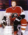 ANDRE MOOSE DUPONT PHILADELPHIA FLYERS CLASSIC 8X10 PHOTO WITH LORD STANLEY CUP