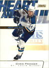 2001 02 BLUES Stadium Club Heart and Soul HS5 Chris Pronger