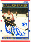 Bill Barber Autographed 1990 Score Card 356