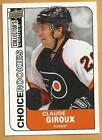 08 09 Collectors Choice ROOKIE RC Card217 CLAUDE GIROUX Philadelphia Flyers