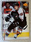 Philadelphia Flyers Ben Eager Signed 07 08 Upper Deck Card Auto