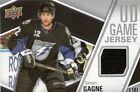 SIMON GAGNE 2011 12 UD  1 GAME JERSEY FLYERS BOLTS KINGS BRUINS