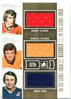 2013 14 ITG Used Decades D 20 Bobby Clarke Brad Park Marcel Dionne Gold 10