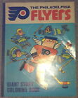 Philadelphia Flyers Huge Coloring Book 1970s Broad Street Bullies Stanley Cup