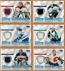 2007 08  FLEER  ULTRA  UNIFORMITY  JERSEY  PICK FROM DROP DOWN LIST