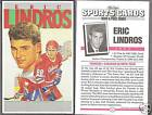 1992 Sports Cards Magazine Eric Lindros 5x8 Promo