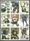 1992 93 OPeeChee Premier Uncut Panel of 9 Eric Lindros