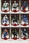15 16 ARTIFACTS SCOTT HARTNELL BASE CARD 24 RUBY PARALLEL 399