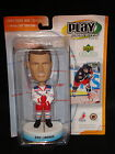 2001 02 Upper Deck ERIC LINDROS PLAYMAKERS BOBBLEHEAD New York Rangers W Card