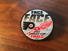 Detroit Red Wings 1997 Stanley Cup Finals Philadelphia Flyers NHL Hockey Puck