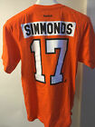 PHILADELPHIA FLYERS WAYNE SIMMONDS REEBOK JERSEY TEE  ORANGE  XX LARGE