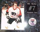 Bill Barber Philadelphia Flyers Signed Phantoms Puck on 15x12 Plaque New