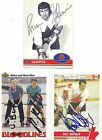 1992 Future Trends 169 Bill Barber 1976 Canada Cup Autographed Hockey Card