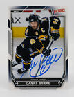 Signed autograph Hockey card Victory DANIEL BRIERE 40 2007 Sabres Upper Deck