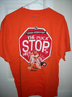 Sergei Bobrovsky the puck stops here Philadelphia Flyers orange sz L men shirt