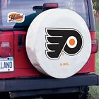 Philadelphia Flyers NHL White Spare Tire Cover By HBS