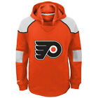 Philadelphia Flyers Reebok Youth Face Off Pullover Hoody M